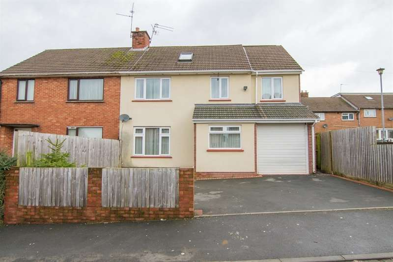 5 Bedrooms Semi Detached House for sale in Gaerwen Close, Llanishen, Cardiff