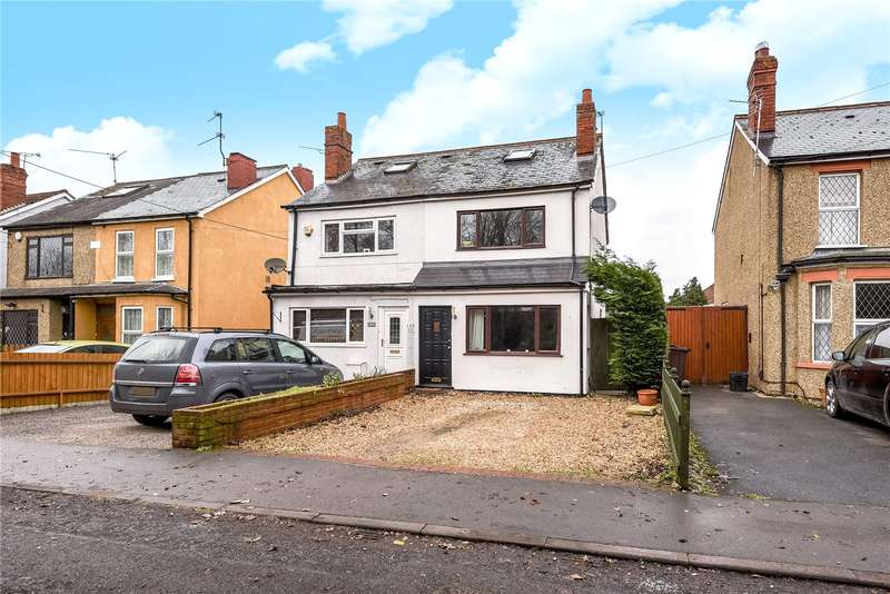 3 Bedrooms Semi Detached House for sale in Old Whitley Wood Lane, Reading, Berkshire, RG2