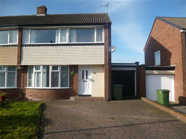 3 Bedrooms Semi Detached House for sale in Broadstone Grove, Newcastle upon Tyne