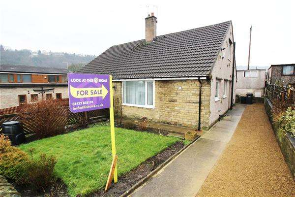 2 Bedrooms Semi Detached Bungalow for sale in City Lane, Wheatley, Halifax