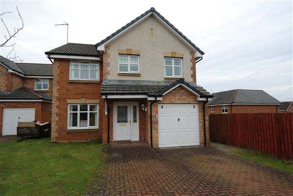 4 Bedrooms Detached House for sale in Clytus Court, Saltcoats
