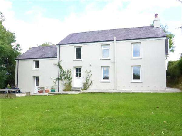 4 Bedrooms Detached House for sale in Belle Vue, West Carmarthenshire, Llanboidy