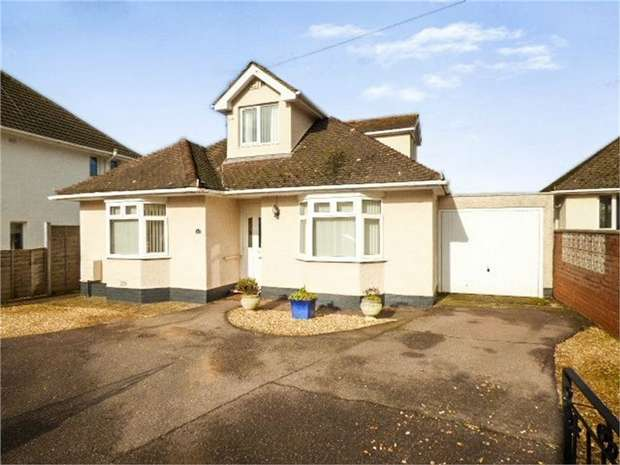 4 Bedrooms Detached Bungalow for sale in Featherbed Lane, Exmouth, Devon