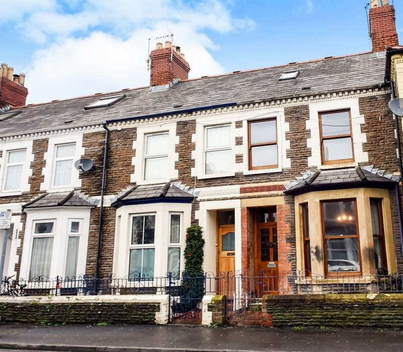 3 Bedrooms Terraced House for sale in Arran Street, Cardiff