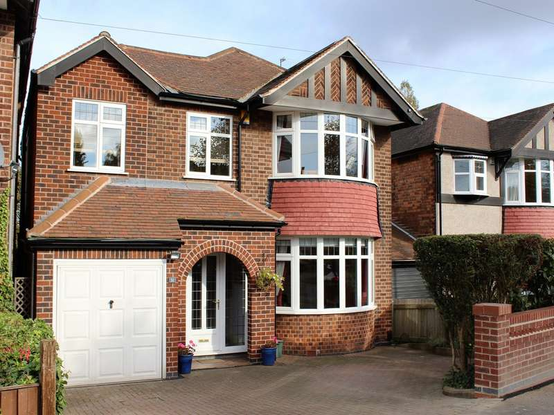 4 Bedrooms Detached House for sale in Hazel Grove, Nottingham, NG3