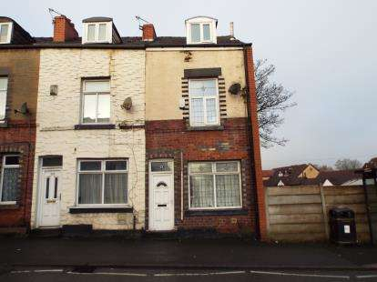 2 Bedrooms End Of Terrace House for sale in Rishton Lane, Great Lever, Bolton, Greater Manchester