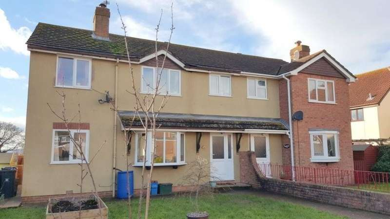 4 Bedrooms Semi Detached House for sale in Exmouth