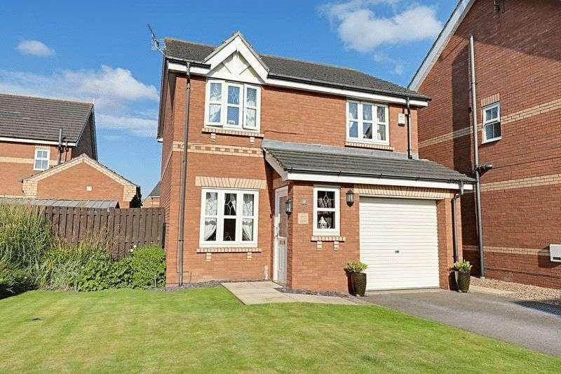3 Bedrooms Detached House for sale in Willowmead Close, Scunthorpe