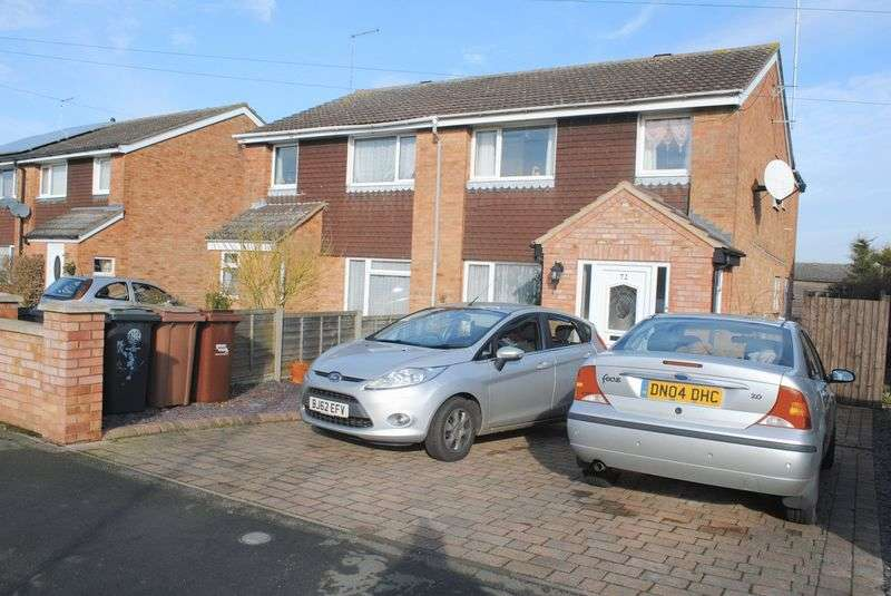 3 Bedrooms Semi Detached House for sale in Grangeway, Rushden