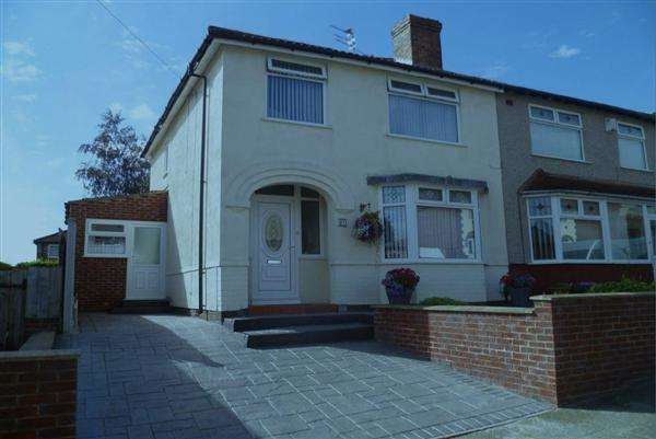3 Bedrooms Semi Detached House for sale in Watergate, Liverpool