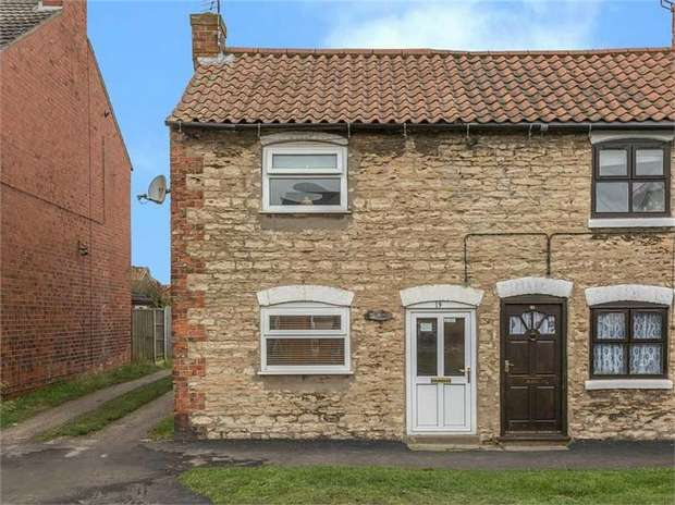 2 Bedrooms End Of Terrace House for sale in North Street, Winterton, Scunthorpe, Lincolnshire