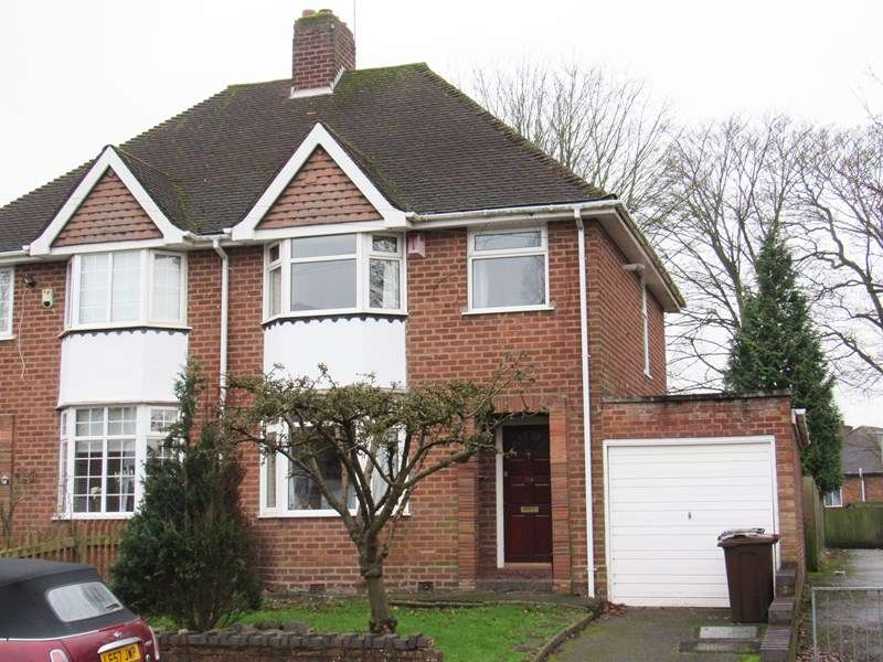 3 Bedrooms Semi Detached House for sale in Summerfield Road, Solihull