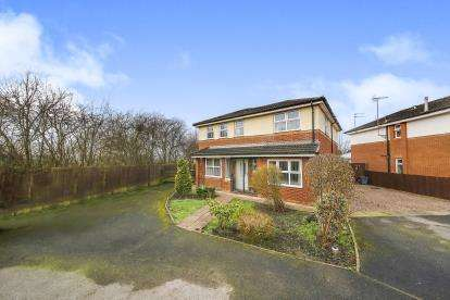 5 Bedrooms Detached House for sale in Rookery Rise, Winsford, Cheshire, England, CW7