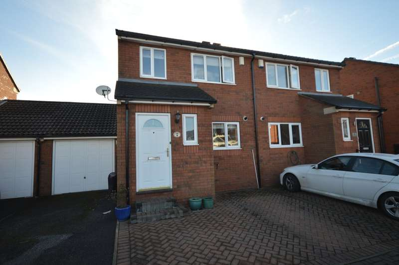3 Bedrooms Semi Detached House for sale in Manor Rise, Crigglestone, Wakefield