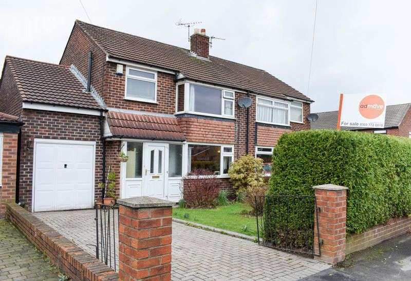 4 Bedrooms Semi Detached House for sale in Harlow Close, Warrington