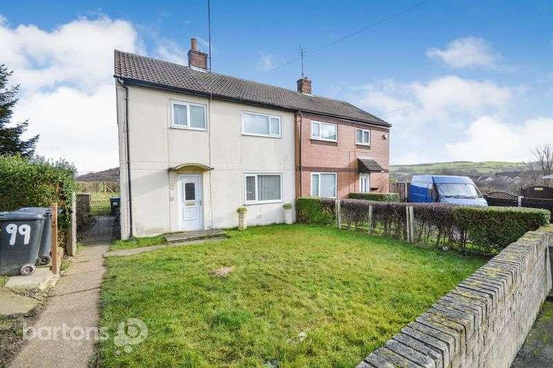 3 Bedrooms Semi Detached House for sale in Welland Crescent, Elsecar, Barnsley