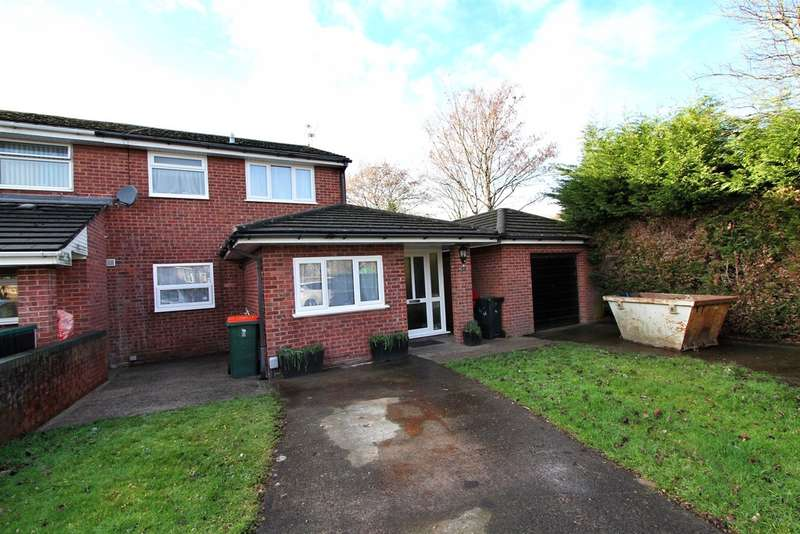 3 Bedrooms Semi Detached House for sale in Hawksworth Grove, Newport