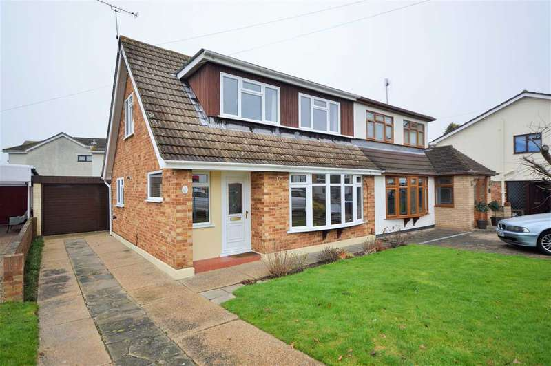 3 Bedrooms Semi Detached House for sale in Elizabeth Drive, Wickford