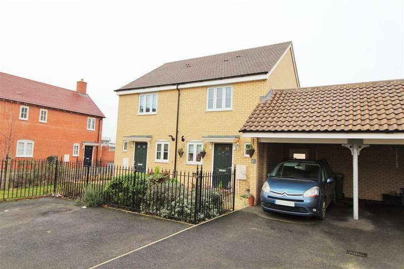 2 Bedrooms Semi Detached House for sale in Wall Mews, Colchester