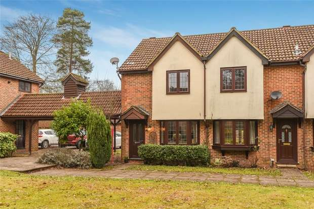 2 Bedrooms End Of Terrace House for sale in Thorne Close, CROWTHORNE, Berkshire