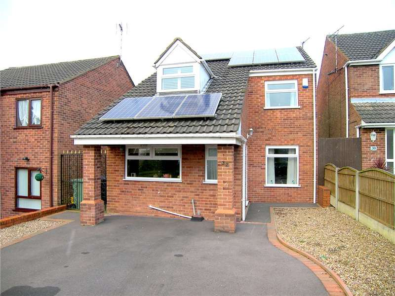 3 Bedrooms Detached House for sale in Broadlands, Broadmeadows, Alfreton, Derbyshire, DE55