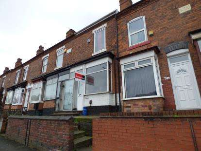 2 Bedrooms Terraced House for sale in Warwick Road, Tyseley, Birmingham, West Midlands