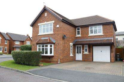 4 Bedrooms Detached House for sale in Sudbury Gardens, St. Helens, Merseyside, WA9