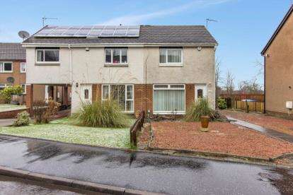 2 Bedrooms Semi Detached House for sale in Langlea Avenue, Cambuslang, Glasgow, South Lanarkshire
