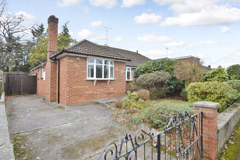 3 Bedrooms Semi Detached Bungalow for sale in Hursley Road, Chandler's Ford