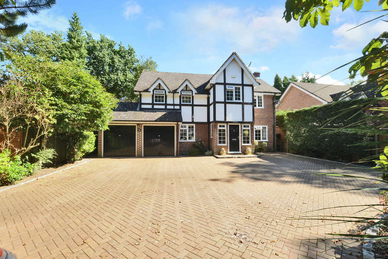 4 Bedrooms Detached House for sale in France Hill Drive, Camberley