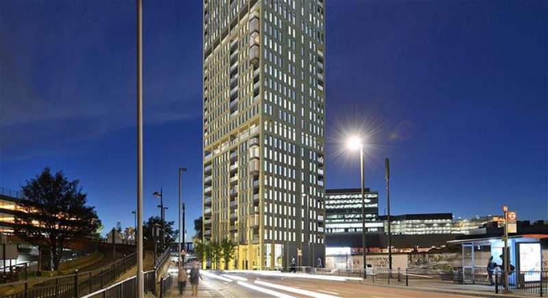 1 Bedroom Property for sale in Stratford Central, Stratford, London, E15