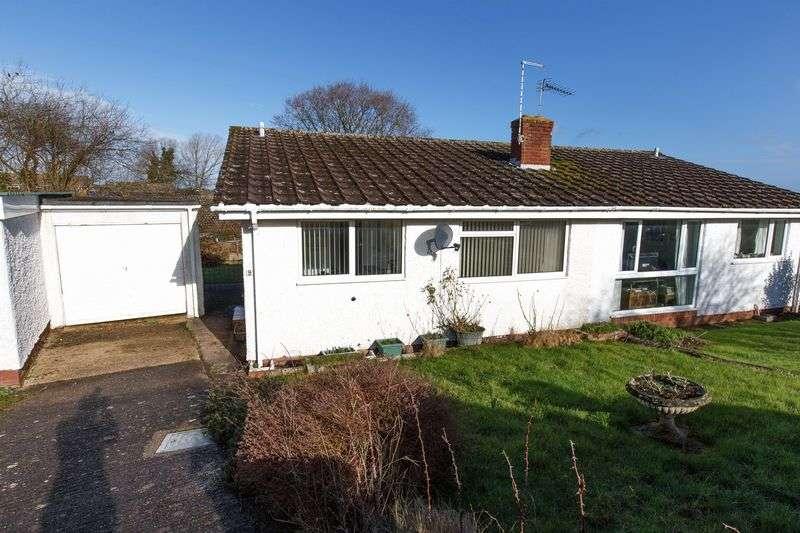 2 Bedrooms Semi Detached Bungalow for sale in Woodpecker Way, Cheriton Bishop