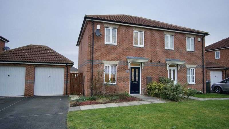 3 Bedrooms Semi Detached House for sale in MAYBURY VILLAS, Longbenton