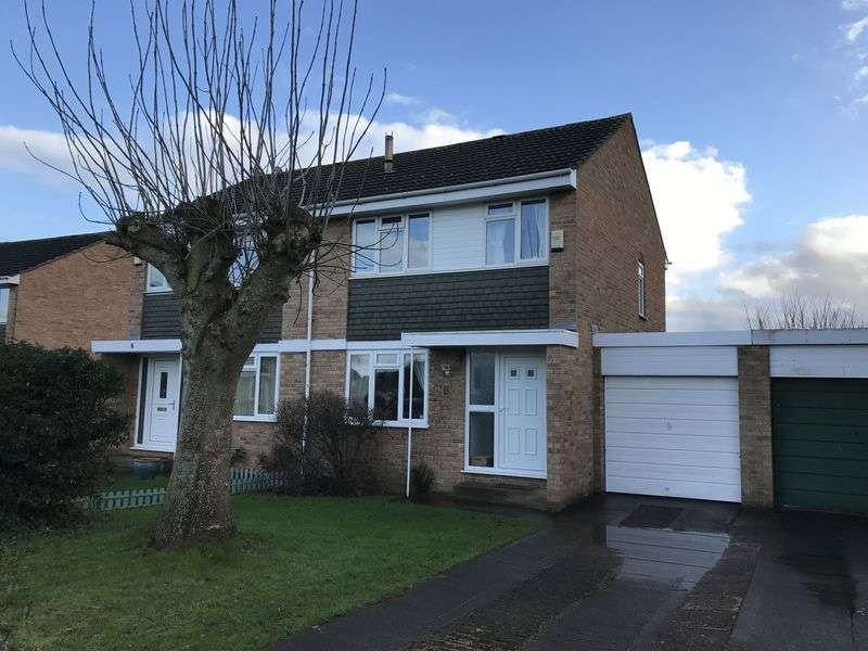3 Bedrooms Semi Detached House for sale in Mayflower Close, Bridgwater