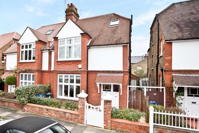 4 Bedrooms Semi Detached House for sale in Fielding Road, Chiswick