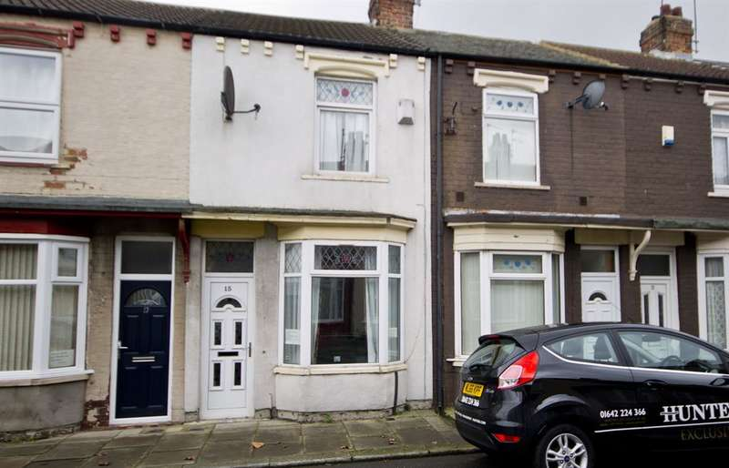2 Bedrooms Terraced House for sale in Herbert Street, Middlesbrough, TS3 6JR