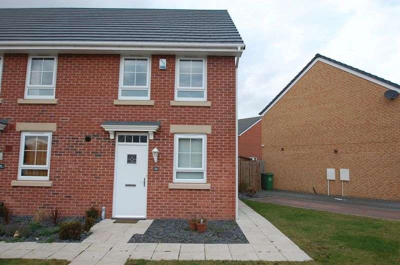 2 Bedrooms Terraced House for sale in Atlantic Crescent, Thornaby, Stockton-On-Tees