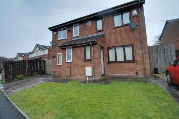 2 Bedrooms Semi Detached House for sale in Furness Avenue, Oldham, Lancashire, OL8 2DX