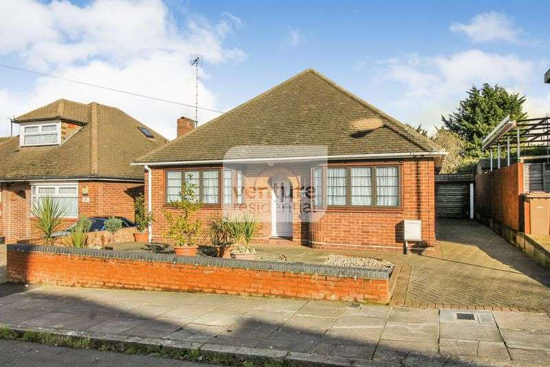 3 Bedrooms Detached Bungalow for sale in Granby Road, Luton