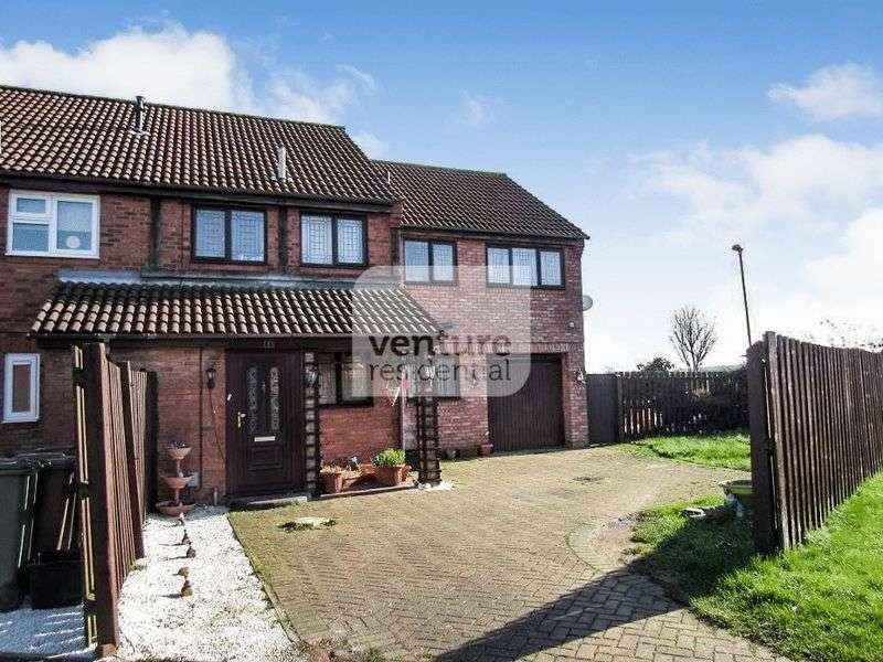 4 Bedrooms Terraced House for sale in Anmer Gardens, Luton