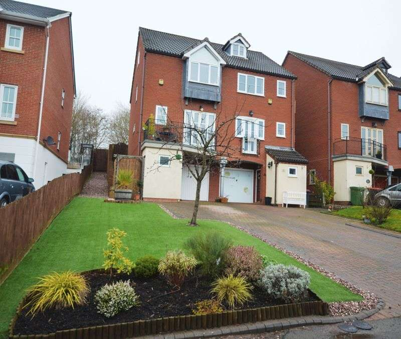 4 Bedrooms Semi Detached House for sale in Ellender Rise, Telford