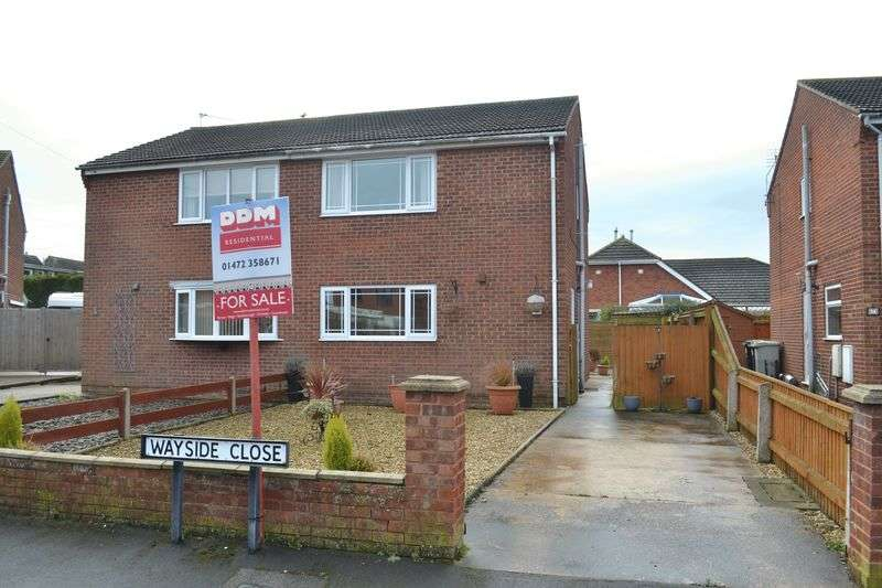 3 Bedrooms Semi Detached House for sale in Wayside Close, Holton Le Clay