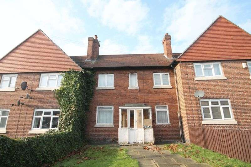 2 Bedrooms Terraced House for sale in BROWNING STREET, DERBY