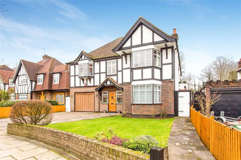 6 Bedrooms Detached House for sale in Dukes Avenue, Edgware, Middlesex, HA8