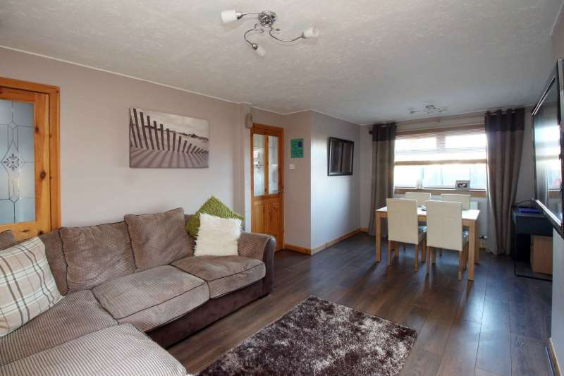 2 Bedrooms End Of Terrace House for sale in Whitelaw Road, Dunfermline, Fife, KY11 4RW