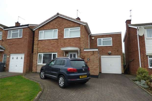 4 Bedrooms Detached House for sale in Burnham Rise, St Nicolas Park, Nuneaton, Warwickshire