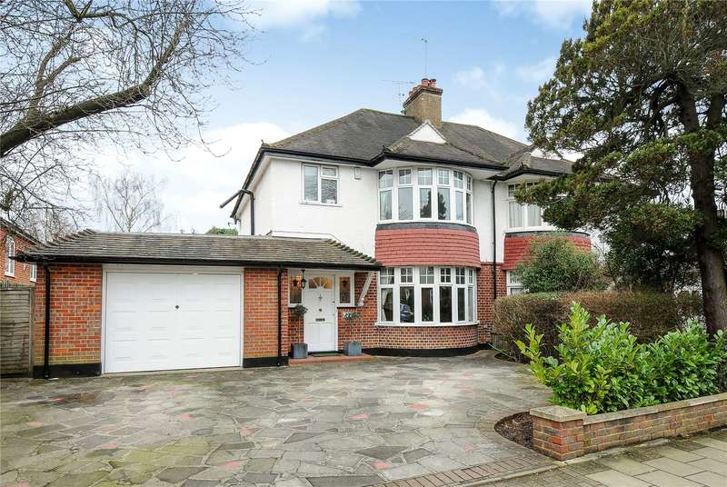 3 Bedrooms Semi Detached House for sale in Cecil Park, Pinner, Middlesex, HA5