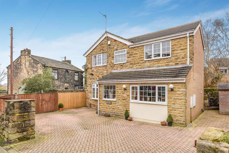5 Bedrooms Detached House for sale in Football, Yeadon, Leeds, LS19 7QF