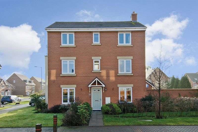 4 Bedrooms Detached House for sale in Oaken Hurst Avenue, Hawksyard, Rugeley