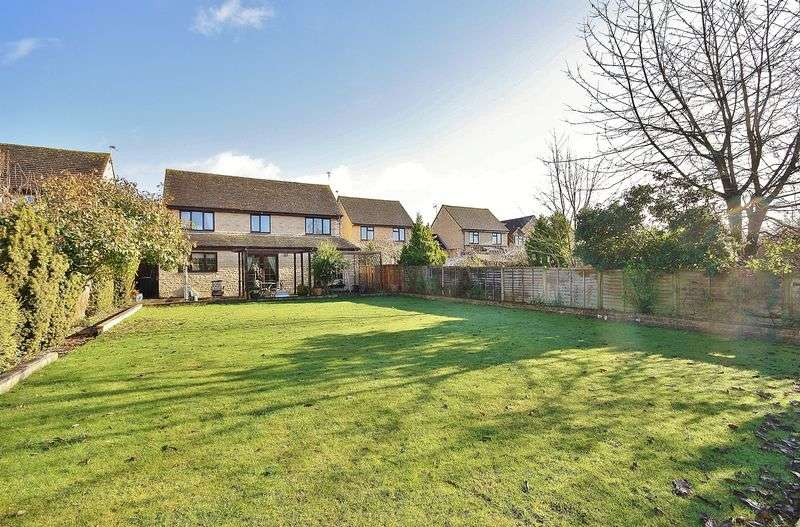 5 Bedrooms Detached House for sale in MANOR ROAD, Cogges Development, Witney OX28 3UQ